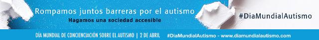 Banner Día Mundial Concienciación Autismo