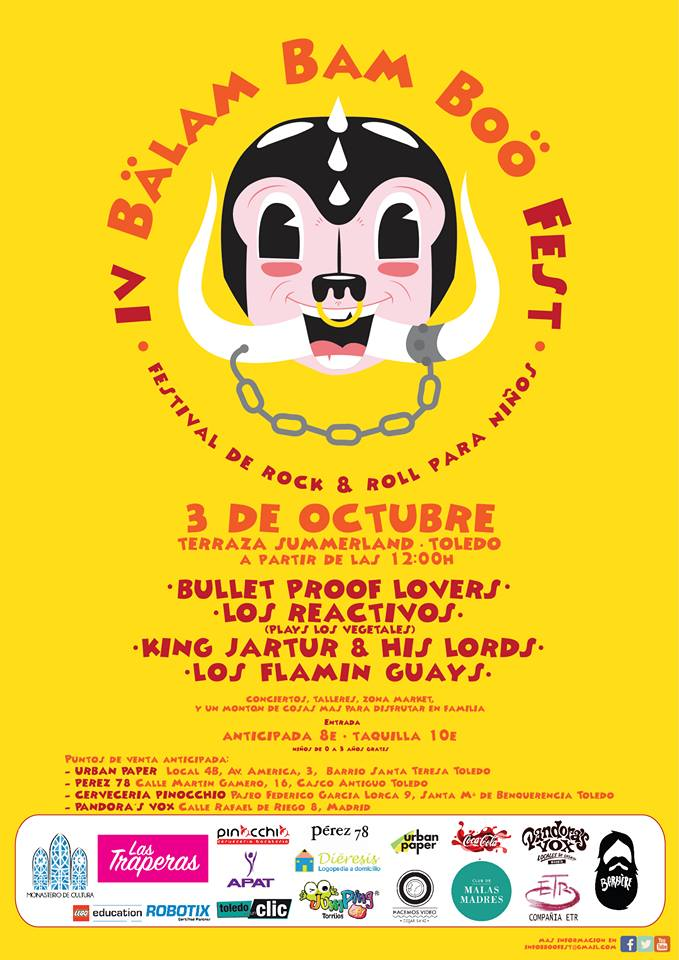 Cartel del Balam Bam Boo Fest IV