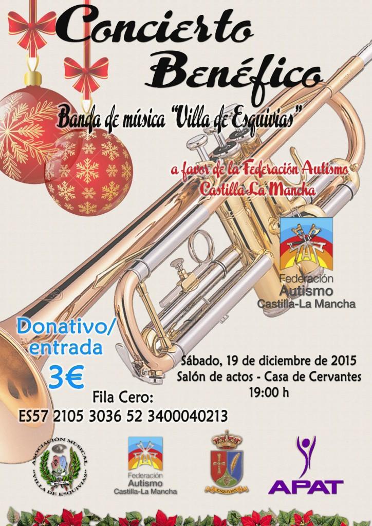 Concierto benéfico de navidad 2015 en Esquivias