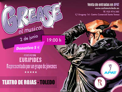 Musical Grease Teatro Rojas Junio 2018 destacado